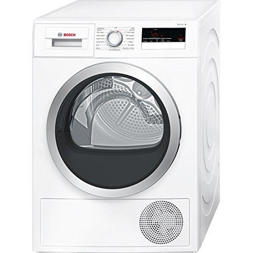 Bosch Serie 4 WTN85201FF Autonome Charge avant 8kg B Blanc sèche-linge - Sèche-linge (Autonome, Charge avant, Condensation, Blanc, Rotatif, Tactil, Droite)