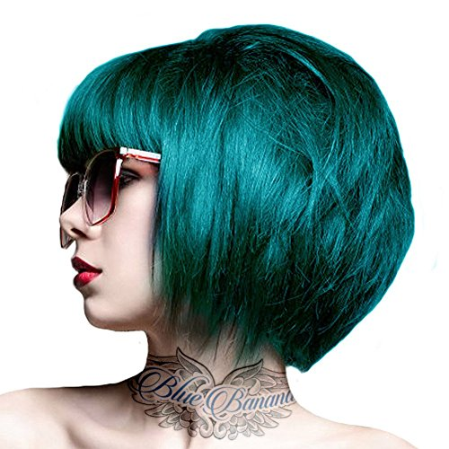 Crazy Color Semi Permanent Hair Colour by Renbow 100ml Pine Green 46