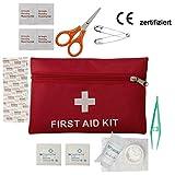 Erste Hilfe Set Notfalltasche Wasserdicht Erste Hilfe Tasche Gefüllt Camping Wandern Sport...