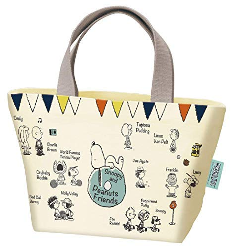 Patineuse Snoopy Peanuts Sac fourre-Tout en Toile Friends YEB1