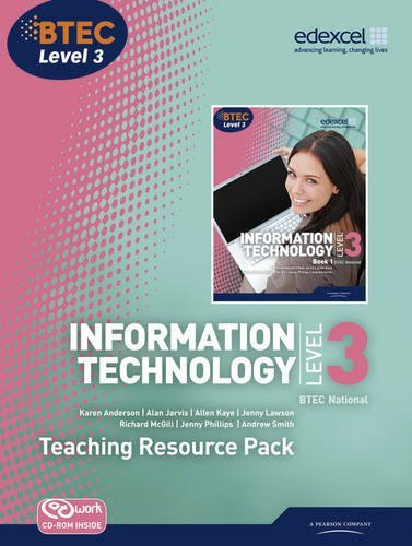 BTEC Level 3 National IT Teaching Resource Pack: Teaching resource pack (BTEC National for IT Practitioners) by Jenny Lawson (2010-12-20)