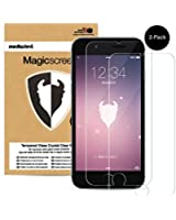 iPhone 6 Plus ONLY Tempered Glass Screen Protector, MediaDevil Magicscreen Crystal Clear (Invisible) - (1 x Protector)