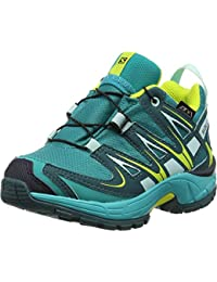 Salomon Kinder XA Pro 3D CSWP, Synthetik/Textil, Trailrunning/Outdoor-Schuhe