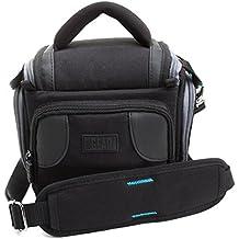 Sacoche Appareils photo numériques réflex - Garantie 3 ans - Canon EOS 100D , 700D , 1200D / Nikon D5300, D3200, Coolpix L330 / Pentax K50 & plus de modèles - Venture DX par USA GEAR