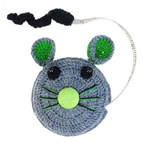 Maßbänder mit Tiermotiven aus Baumwolle - verschiedene Motive - Fair Trade (Maus)