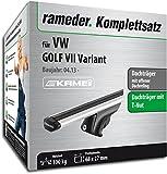 Rameder Komplettsatz, Dachträger Relingträger Kamei für VW Golf VII Variant (135345-11221-26)