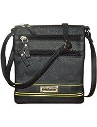 Style98 100% Genuine Leather Unisex Crossbody Sling Bag