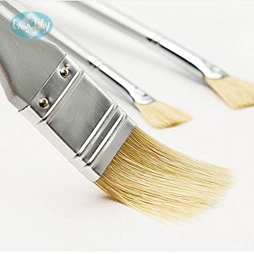 ZEICHNEN & Malen Bürste, Nylon Borsten, kann verwendet werden für Ölmalerei, Gouache, Aquarell,...