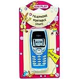 Kim'Play - 1202 - Jeu Electroniques - Téléphone Portable  avec Piles - Factice