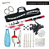 Fishing Spinning Rod,Reel,Accessories Complete Kit (8 Feet)
