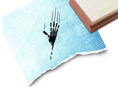 inderstempel Motivstempel Halloweenstempel - Geisterhand - Bilderstempel zum Ausmalen für Kita - Kinderzimmer - Schule und Beruf (Drucken Malvorlagen Halloween)