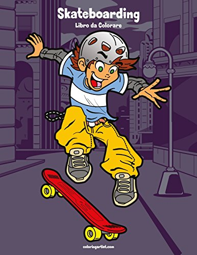 Skateboarding Libro da Colorare 1: Volume 1 por Nick Snels