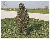 Photo de ZHhome Camouflage Camo Suit, 3D réaliste , Convient pour Sniper Ambush Woodland Militaire Armée Tir Photographie de Chasse, Jungle Couleur par ZHhome