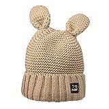 Quaan Frau Mode Behalten Warm Winter Hüte Gestrickt Wolle Säumen Hut