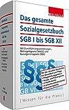 Das gesamte Sozialgesetzbuch SGB I bis SGB XII: Mit Durchführungsverordnungen, Wohngeldgesetz (WoGG) und Sozialgerichtsgesetz (SGG)