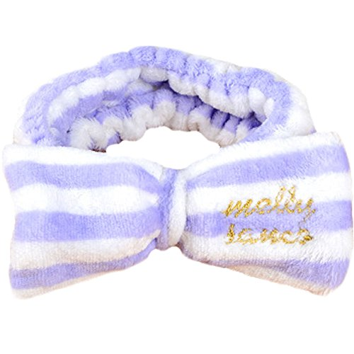 Mode bowknot bandeau cheveux / accessoire coiffure pour Les Filles, Pourpre