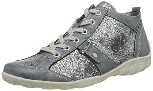 Remonte R3476, Sneakers Hautes Femme Bleu (Azur/azur / 14)