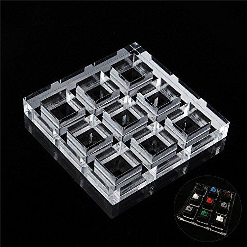 Tutoy Transparent Verdicken Mechanische Tastatur Schalter Tester Rahmen Testwerkzeug Acryl Test Schacht Regal