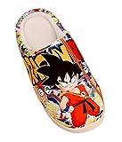 Bromeo Dragon Ball Anime Super Doux Chaud Maison Chaussons Mignon Peluche Chaussures