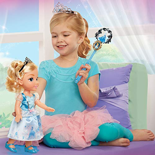 Disney Princess 84223 Cinderella Toddler Doll and Accessories Puppe, Multi (Outfits Toddler Disney)