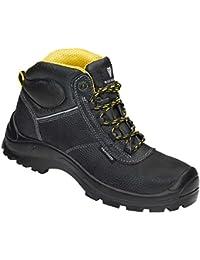 Maxguard  CONNOR, Chaussures de sécurité mixte adulte Noir/jaune M