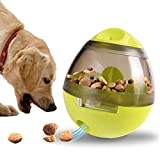 Pawaca Dog Food Ball, bicchiere InterActive Pet food dispenser IQ Treat Ball InterActive cane giocattolo per cani, gatti e altri animali domestici