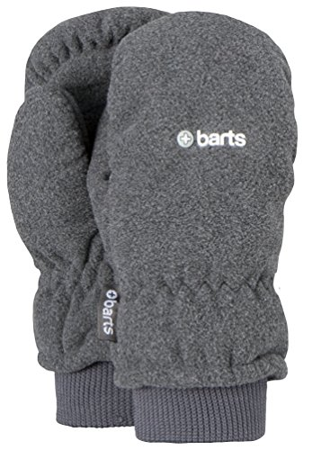 Barts Fleece Mitts Fausthandschuhe Kids heather grey size 3 (Heather Mitts)
