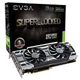 EVGA GeForce GTX 1080 SC GAMING ACX 3.0, 8GB GDDR5X, LED, DX12 OSD Support (PXOC) Grafikkarte 08G-P4-6183-KR