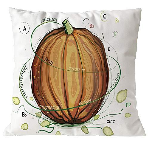 VEMOW Heißer Halloween Kissen Abdeckung Decor Kissenbezug Sofa Dekoration Taille Wurf Kissenbezug 18