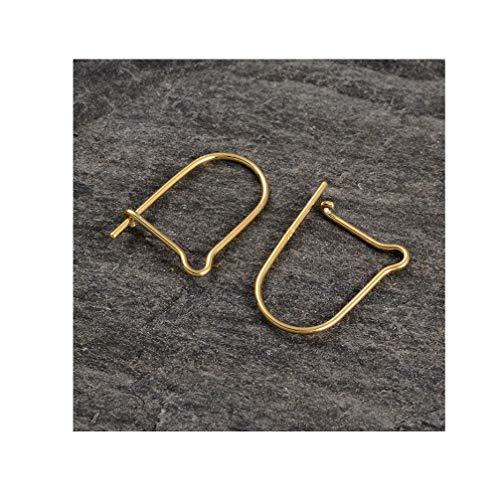NACOLA 925 Sterling Silber Französisch Draht Ohrring Haken, Ohr Draht Haken Erkenntnisse für DIY Schmuckherstellung