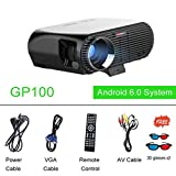 HITSAN newpal Projector gp100up led Projector 4k Home Cinema 3500 lumens Full hd 1080p Android 6 01 WiFi Bluetooth miracast Beamer tv 1 GP100 WiFi Version