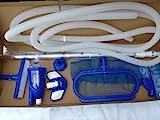 Bodensauger, Poolreiniger, komplettes Set, für Intex, Bestway, Standartpools mit 32 mm Schlauch...