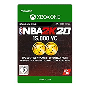 NBA 2K20: 15,000 VC – Xbox One – Download Code