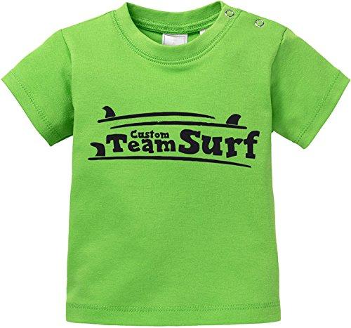EZYshirt® Team Custom Surf Baby T-Shirt (Bar Body Flex)