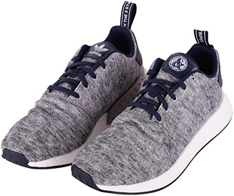 Adidas NMD R2 Uas, Zapatillas de Deporte para Hombre, Gris (Brebas/Plamat/Ftwbla 000), 44 EU