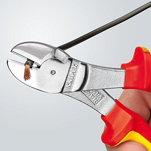 Knipex-7406200-Pince-coupante-diagonale-forte-dmultiplication-200-mm