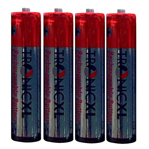 Eurosell Wiederaufladbare Batterie Ersatzakku Akku AAA für Telefon Gigaset A400 A415 Duo / Trio Akkus 700mAh