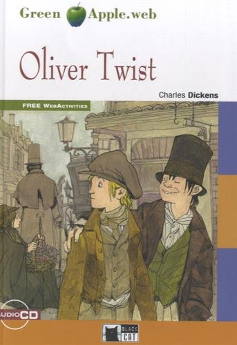 Green Apple: Oliver Twist + Audio CD/CD-Rom