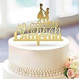 Caratteristiche: 1.Questo cake topper sarà perfetto per il vostro matrimonio, fidanzamento, anniversario e torta di compleanno. 2.Questo può anche essere usato come parte di un centrotavola o Composizione floreale. 3.Con uno stile vintage e ...