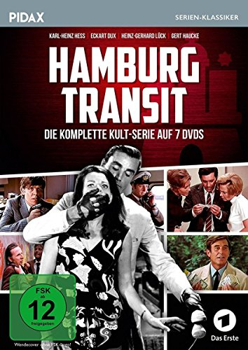 Hamburg Transit / Die komplette 52-teilige Krimiserie (Pidax Serien-Klassiker) [7 DVDs]