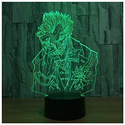 Star Wars LED ZNZ Illusion Lumineuse Lumineuse Pièce pour Enfant Bande Dessinée Anime Petite Lampe de Table USB Sensation de Charge Toucher Sept Couleurs Veilleuse (25-32),30