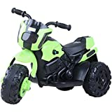 GoodLuck Baybee Diabolico Battery Operated Bike For Kids Motorcycle Rechargeable Battery Operated Ride On Bike Toys 2 To 4 Years Kids For Boys And Girls (Green)