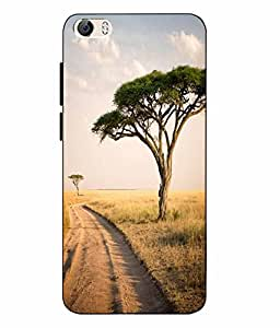 Vivo Y55 SmartPhone Nature Printed Multicolor Soft Back Cover By Case Cover