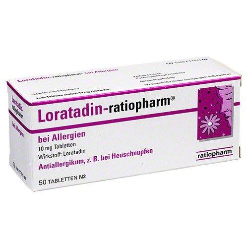 LORATADIN RATIOPH B ALLERG
