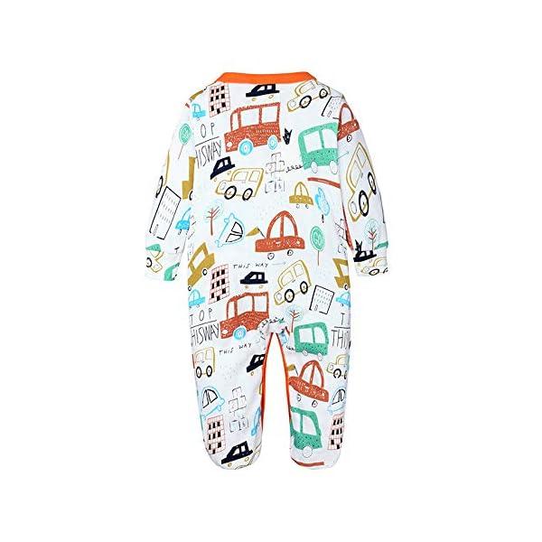 Nwada Ropa Bebe Chandal Reborn Chico Conjunto para Niña Recien Nacido Pijama Nino Vestido Primavera Pascua 0-18 Meses 2