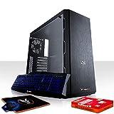 Fierce Maniac Gaming PC Bundeln: 4 x 3.6GHz 4-Core Intel Core i3 8100, 240GB SSD, 1TB HDD, 8GB 2666MHz, RX 560 2GB, Cooler Master MasterBox MB600L, Tastatur Maus 1073385