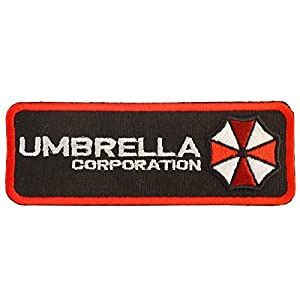 Resident Evil Umbrella Corporation Embroidered Velcro Écusson Patch