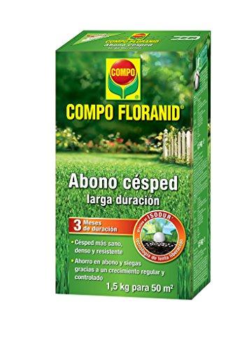 Compo Abono Césped Floranid 1,5 Kg, 26x14.2x6.4 cm, 8411056335015