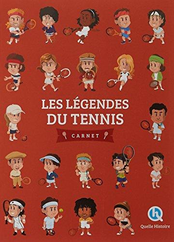 Les légendes du tennis par Patricia Crété
