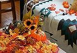 HENMI Ahornblatt, künstliche Ahornblatt,ünstliche Herbst-Ahornblätter Ahornblatt Für Halloween,Thanksgiving Day,Hochzeit und Partei Dekorationen-500 Stück - 6